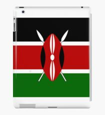 Kenya Kenyan Flag iPad Case/Skin