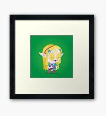 Zelda - The Legend of Zelda: Breath of the Wild | PopMuertos 2017 Framed Print