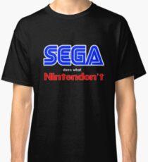 SEGA Does What Nintendon't Classic T-Shirt