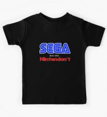 SEGA Does What Nintendon't Kids Clothes