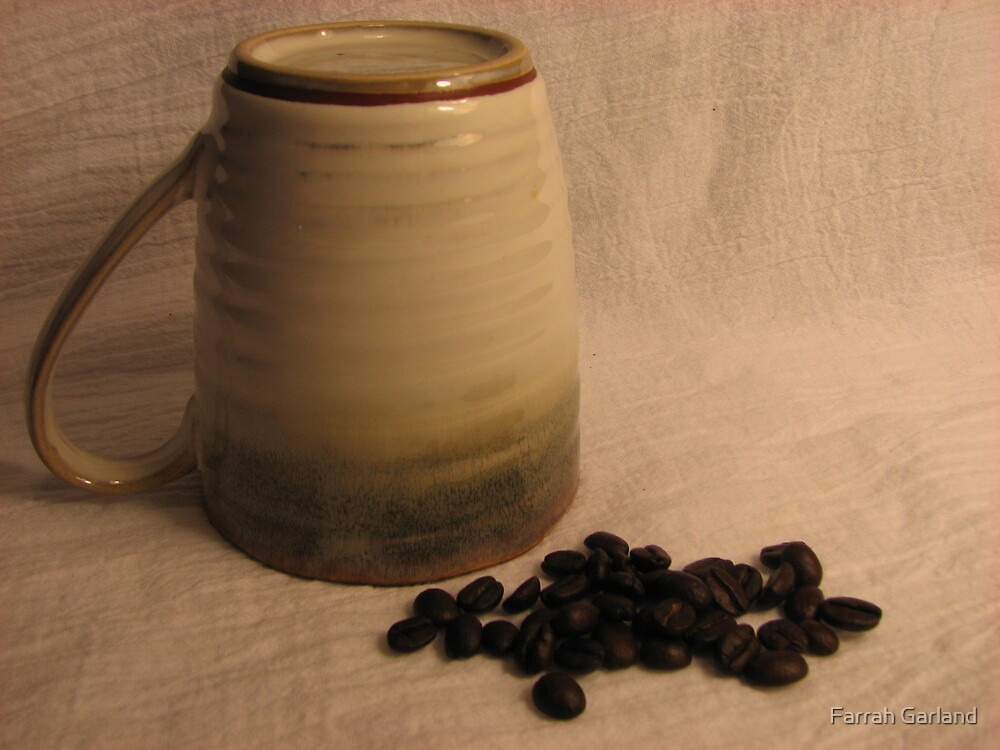Coffee and a mug by Farrah Garland