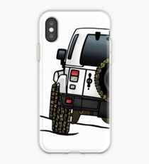 Jeep Wrangler JK [Blanc] Coque et skin iPhone