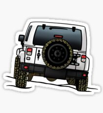 Jeep Wrangler JK [White] Sticker