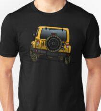 Jeep Wrangler JK [Yellow] Unisex T-Shirt