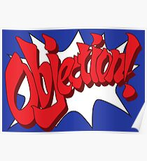 Objection! Poster