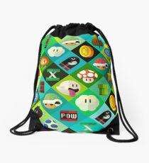Mario Drawstring Bag