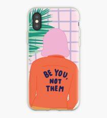 Sei du, nicht sie - Aussage Iphone Fall iPhone-Hülle & Cover