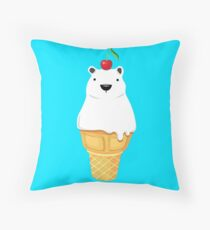 Polar cone Throw Pillow