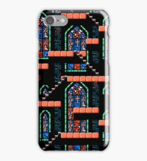Castlevania III - Window Panes iPhone Case/Skin