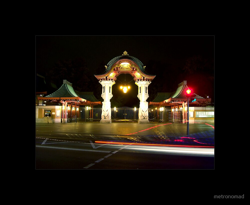 Elephant Gate by metronomad