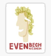 Even Bech Næsheim Sticker