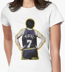 pete maravich Womens Fitted T-Shirt