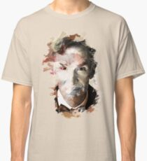 Paint-Stroked Portrait of Scientist and Astronomer, Bill Nye - The Science Guy Classic T-Shirt