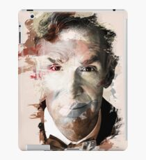 Paint Stroked Portrait of Bill Nye, The Science Guy iPad Case/Skin