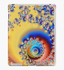 Psychedelic Spiral Pattern iPad Case/Skin