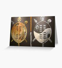 Zulu Shields Greeting Card