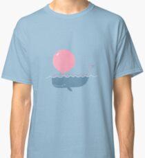 Bubble Gum Whale Classic T-Shirt
