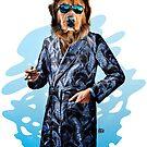 Smoking Dog Pepe Psyche by Pepe Psyche
