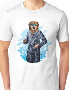 Smoking Dog Pepe Psyche Unisex T-Shirt