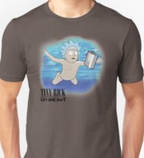 Nevermind Nirvana Tiny Rick Unisex T-Shirt