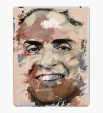 Paint Stroked Portrait of Carl Sagan iPad Case/Skin