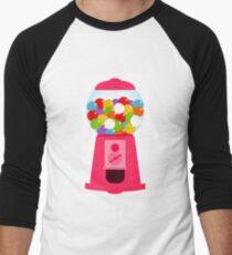 colorful candy dispenser Men's Baseball ¾ T-Shirt