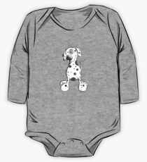 Potted Dog Cartoon One Piece - Long Sleeve