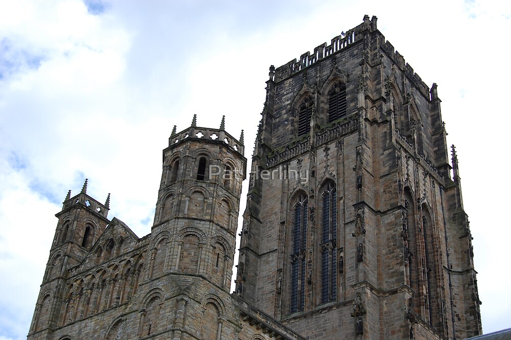 Durham Cathedral by Pat Herlihy