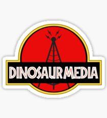 Dinosaur Media Sticker