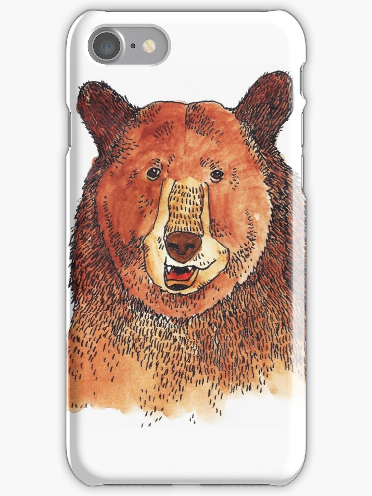 Brown Bear by ShakeyIllustra