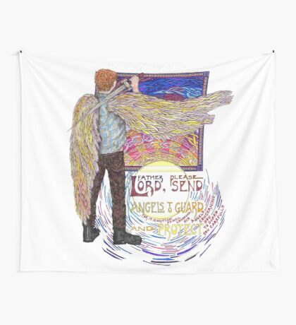 Your Angel Wall Tapestry