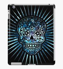 Cosmic Sugar Skull, Space, Galaxy Style iPad Case/Skin