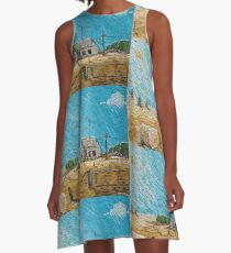 Put Gran in the Cottage A-Line Dress