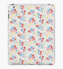 Vinilo o funda para iPad Ramo de flores populares de color agua