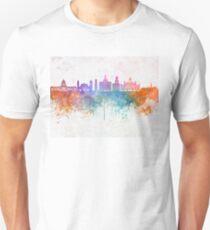 Havana V2  skyline in watercolor background Unisex T-Shirt