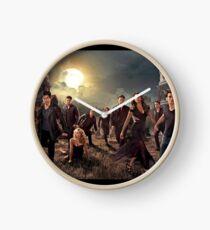 The vampire diaries-cast Clock