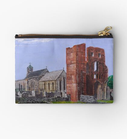 Lindisfarne Priory and St. Mary's Church Studio Pouch
