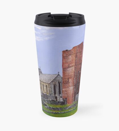 Lindisfarne Priory and St. Mary's Church Travel Mug