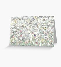 Whimsical reproduction Greeting Card