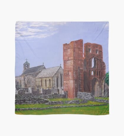 Lindisfarne Priory and St. Mary's Church Scarf