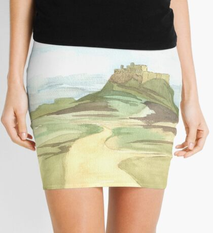 Lindisfarne Castle Mini Skirt