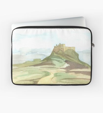 Lindisfarne Castle Laptop Sleeve