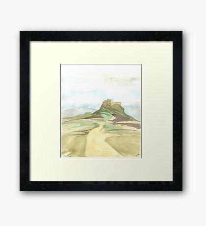 Lindisfarne Castle Framed Print