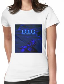 SONIC The Hedge Hog Womens Fitted T-Shirt