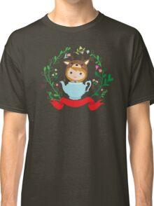 Cute deer girl in the teapot.  Classic T-Shirt