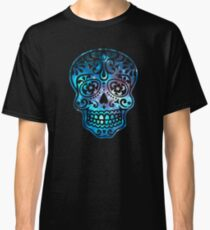 Sugar Skull, Space, Galaxy Style, Cosmic Classic T-Shirt