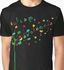 Autism Shirts - Autism Awareness Ribbon  Graphic T-Shirt