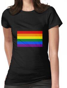 lgtb flag Womens Fitted T-Shirt