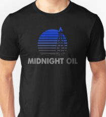 MIDNIGHT OIL - AUSTRALIAN ROCK BAND (BLUE) Unisex T-Shirt