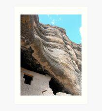 cliff dwellings  Art Print
